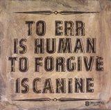 Dog's Forgive