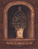 Olive Topiary Niches II - petite