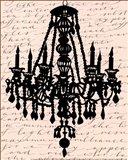 Chandelier Calligraphy II - mini