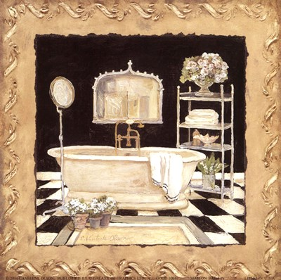 Maison Bath IV Poster by Charlene Winter Olson for $11.25 CAD