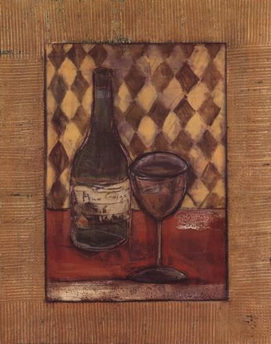 A Fine Wine I Poster by Rebecca Burton for $18.75 CAD
