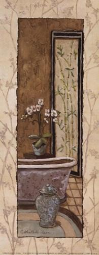 Oriental Bath II Poster by Charlene Winter Olson for $11.25 CAD