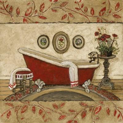 Crimson Moment II Poster by Charlene Winter Olson for $13.75 CAD
