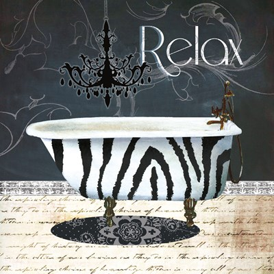 Relax Poster by Conrad Knutsen for $13.75 CAD