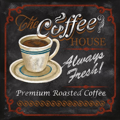 The Coffee House Poster by Conrad Knutsen for $13.75 CAD