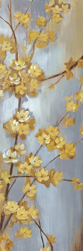 Forsythia Garden I Poster by Nan for $27.50 CAD