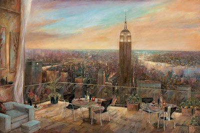 A New York View Poster by Ruane Manning for $46.25 CAD