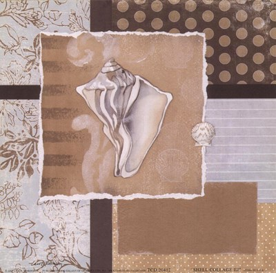 Shell Collage III Poster by Carol Robinson for $11.25 CAD