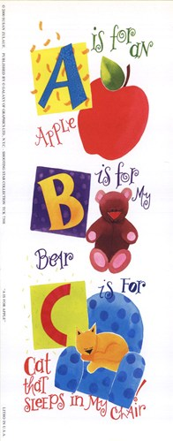 'A' is for Apple Poster by Susan Zulauf for $8.75 CAD