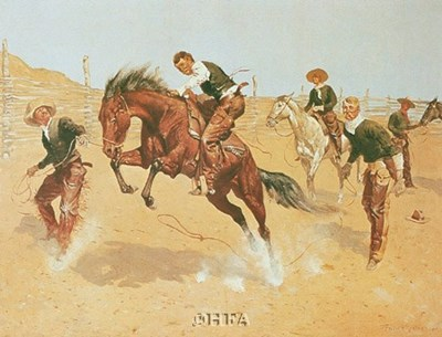 Turn Him Loose, Bill Poster by Frederic Remington for $11.25 CAD