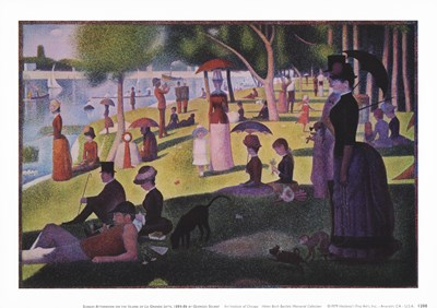 A Sunday Afternoon on the Island Poster by Georges Seurat for $11.25 CAD