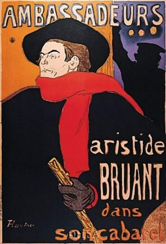 Ambassadeurs Poster by Henri de Toulouse-Lautrec for $11.25 CAD