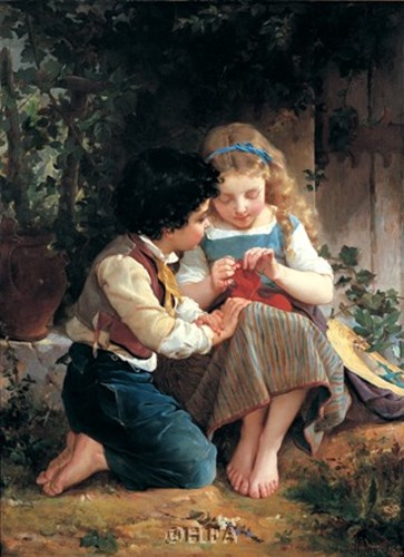 A Special Moment, 1874 Poster by Emile Munier for $11.25 CAD