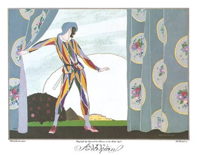 Arlequin Poster by Brunelleschi for $17.50 CAD