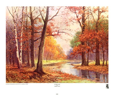 Autumn Glade Poster by Robert Wood for $17.50 CAD