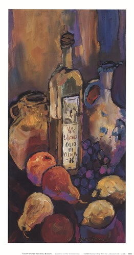 Tuscan Kitchen II Poster by Karel Burrows for $17.50 CAD