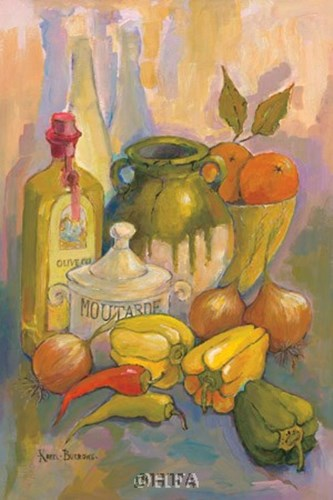 Mediterranean Kitchen III Poster by Karel Burrows for $22.50 CAD
