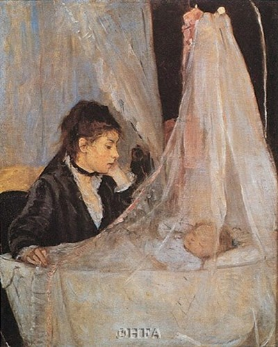 The Cradle Poster by Berthe Morisot for $25.00 CAD