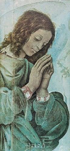 Adoring Angel Poster by Fra Filippo Lippi for $21.25 CAD