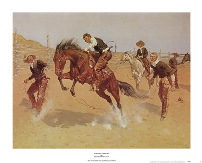 Turn Him Loose, Bill Poster by Frederic Remington for $22.50 CAD