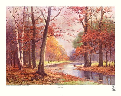 Autumn Glade Poster by Robert Wood for $25.00 CAD