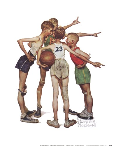 Oh, Yeah Poster by Norman Rockwell for $15.00 CAD