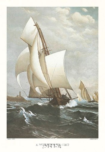 A Winning Yacht Poster by J. D. Davidson for $35.00 CAD
