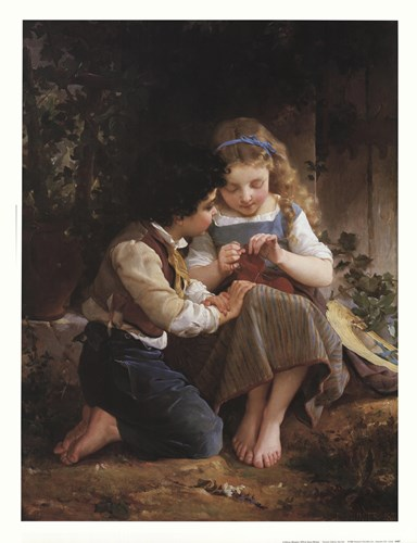 A Special Moment, 1874 Poster by Emile Munier for $33.75 CAD
