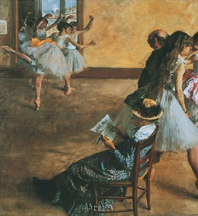 Ballet Class Poster by Edgar Degas for $27.50 CAD