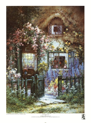 A Wayside House Poster by Alfred De Breanski for $27.50 CAD