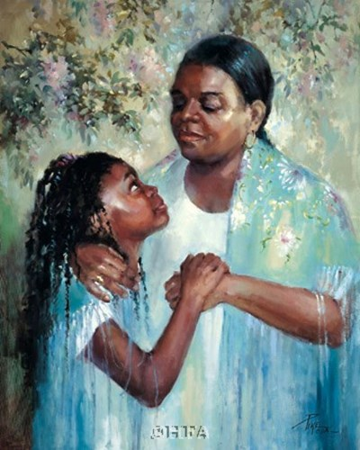 A Mother's Pride Poster by Joyce Pike for $41.25 CAD