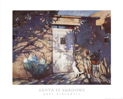 Santa Fe Shadows Poster by Gary Blackwell for $38.75 CAD