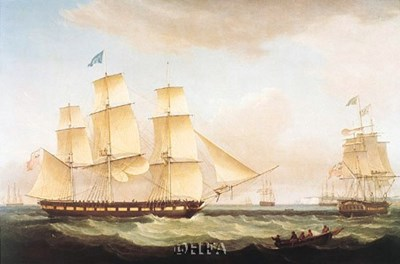 Medina off Dover Poster by Thomas Whitcombe for $33.75 CAD