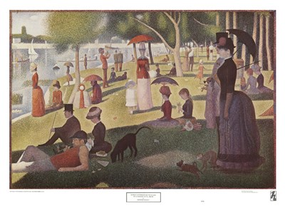 A Sunday Afternoon on the Island Poster by Georges Seurat for $33.75 CAD