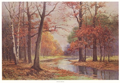 Autumn Glade Poster by Robert Wood for $38.75 CAD