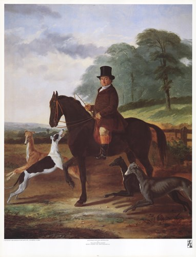 Huntsman with his Greyhounds Poster by William Henry Knight for $35.00 CAD