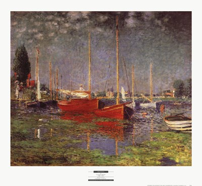 Argenteuil Poster by Claude Monet for $33.75 CAD