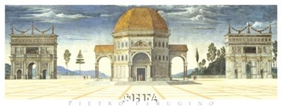 Architectural Detail Poster by Pietro V. Perugino for $45.00 CAD