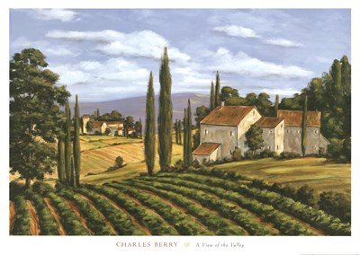 A View of the Valley Poster by Charles Berry for $48.75 CAD
