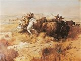 Indian Buffalo Hunt