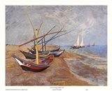 Boats at Saint-Maries, 1888