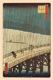 Ohashi Bridge in the Rain