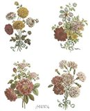 Florals (Set of Four)