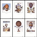 Balloons (set of six prints each 12 X 18 in)
