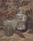 Eucalyptus with Lotus Vase