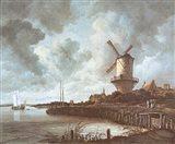 Windmill Near Wijk