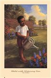 Child with Watering Can