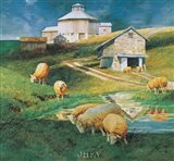 Octagonal Barn, 1988