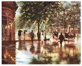 Spring Showers, London