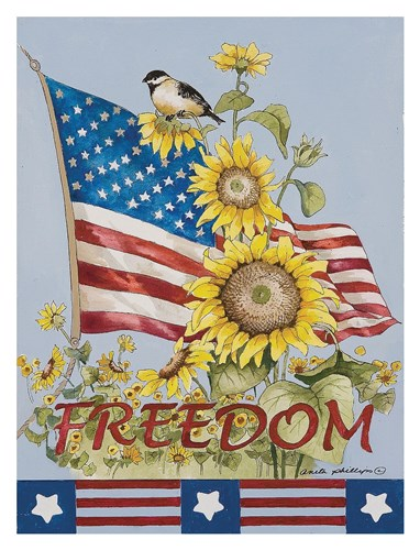 Celebrate Freedom Poster by Anita Phillips for $78.75 CAD